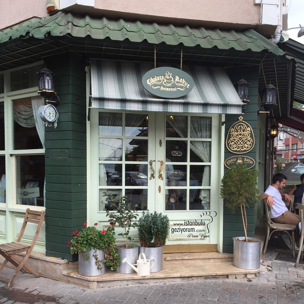 Çengelköy'de Çikolata Kahve