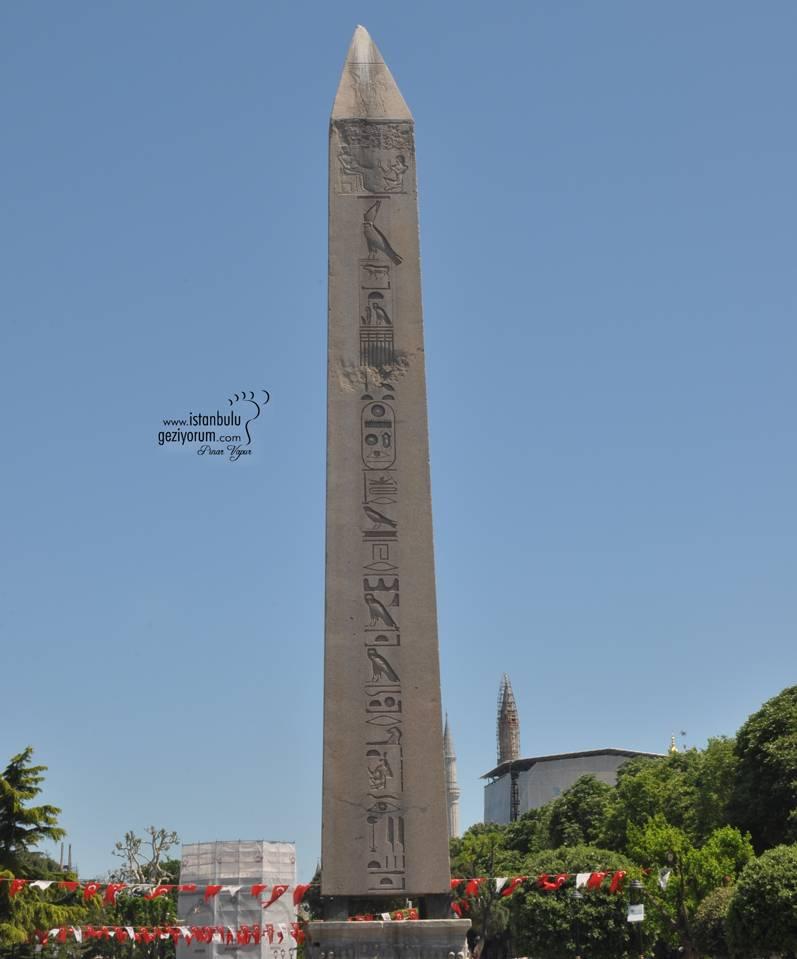 Sultan Ahmet Meydanı'nda Bulunan Dikilitaş